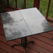 Marble Table on Antique Base